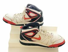 Nike Air Flight Falcon Mens Size 11.5 Basketball Shoes White Red Blue