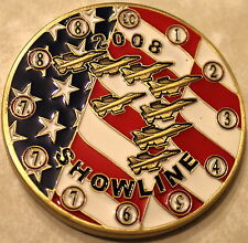 Thunderbirds Air Force Demonstration Squadron Team Showline 2008 Challenge Coin