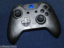 Xbox One Metallic Silver Wireless Controller - Blue LED - Rapid fire - Modded
