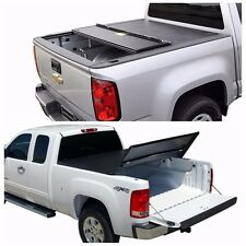 "6.5FT/78"" Lock Tri-Fold Tonneau Cover 99-2016 Ford F250 350 Superduty Short Bed"