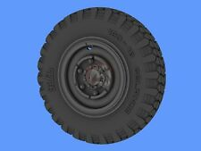Panzer Art 1/35 Road Wheels for Horch 108 Typ 1a (Commercial Pattern) RE35-287