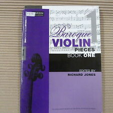 violin BAROQUE VIOLIN PIEES Book 1, Richard Jones