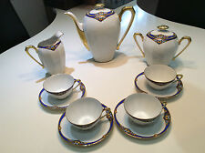 STUNNING ART DECO A. GIRAUD, FOR LIMOGES, COFFEE SET
