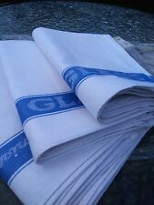 Unione LINO TESSUTO DI VETRO asciugamani 50% COTONE 50% LINO RISTORANTE BAR PANNI B