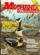 1983 Mechanix Illustrated Magazine: Creative Wood Crafting/Wooden Decoy Ducks