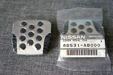 2x OEM Nissan Brake & Clutch Pedal Sport ss Pad Cover for G35 350Z Altima Maxima