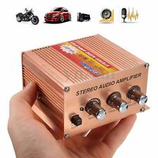 500W 2.1CH Channel Mini Hi-Fi Stereo Audio Amplifier For Car Motorcycle Speaker