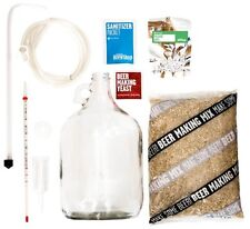 Brooklyn Brew Home Beer Making Kit Grain Hops Yeast Airlock (Afternoon Wheat)