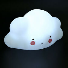 Cloud LED Night Light Bedroom Portable Desk Bed Lamp Room Decor Toys Kids Gifts