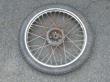 Stahlfelge Felge mit IRC Trials 2,75-19 Oldtimer Motorrad 60er 70er Jahre unrest