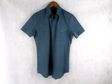 GUCCI SKINNY FIT 39/15.5 OR M SHORT SLEEVE SHIRT AUTHENTIC