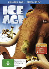 ICE AGE - BRAND NEW & SEALED REGION 4 DVD + DIGITAL COPY