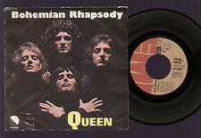 "7"" QUEEN BOHEMIAN RHAPSODY / I'M IN LOVE WITH MY CAR ITALY 1975 MERCURY TAYLOR"