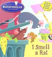 I Smell a Rat (Scented Storybook)(Ratatouille Movie Tie in) RH Disney Hardcover