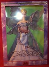Mattel The Orchid Barbie Flowers In Fashion 2nd in Series Limited Edition NRFB