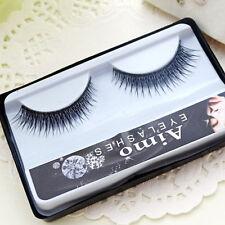 New eyelash wholesale 2ps 100% real mink fur Handmade crossing lashes individual