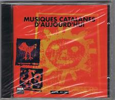 CD MUSIQUES CATALANES D'AUJOURD'HUI SILEX FRANCE