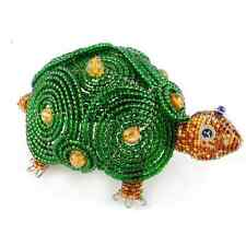 BEADWORX TURTLE / TORTOISE ~ BEADED ANIMAL ~ HAND CRAFTED GIFT ~ BEAD WORK