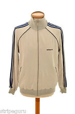 vintage ADIDAS tracksuit top mens size Medium trefoil 80s made in Austria