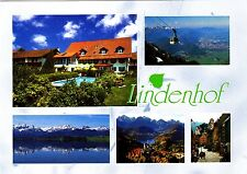 Rettenbach , Lindenhof , gelaufene Ansichtskarte