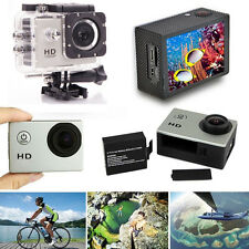 HD 1080P Helmet Sports DV HD Action Waterproof Digital Camera for SJ4000 Silver