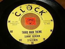 SAMMY BENSKIN - THIRD MAN THEME - ROUND N ROUND  / LISTEN - RNB POPCORN