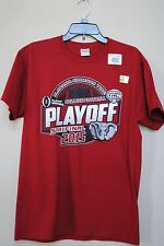 New size M University Alabama Crimson Tide 2015 T-shirt Cotton Bowl Football Men