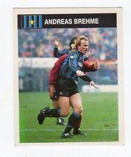 figurina CAMPIONI E CAMPIONATO 90/91 1990/91 numero 147 INTER BREHME