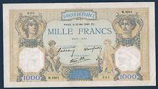 FRANCE - 1000 FRANCS CÉRÈS & MERCURE Fay n°38. 48 du 30-5-1940. en SUP