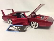 Fast Furious 1969 Dodge Charger Daytona 1:24 Diecast Jada Toys Dsp