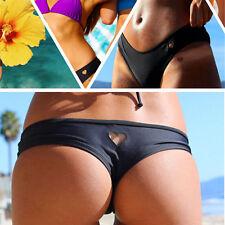 Hot Sexy Women Brazilian Bikini Swimwear Thong Love Heart Cut Out Bottom S/M/L