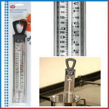 Confectionery Jam Making Thermometer Sugar TALA Black SSteel Glass Tube Deep Fry