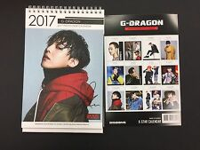 Kpop 2017 & 2018 K pop Bigbang G Dragon Boys High Quality Photo Desk Calendar