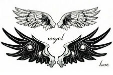 Little Devil Wings double Tatoo Body Art Waterproof Temporary Tattoo Stickers