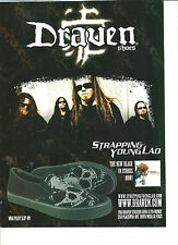 Strapping Young Lad, Draven Shoes, Full Page Promotional Ad