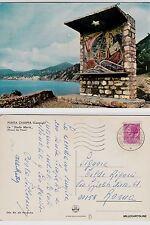 """# CAMOGLI: PUNTA CHIAPPA - LA """"STELLA MARIS"""" (pittore Dal Pozzo)  1969"""