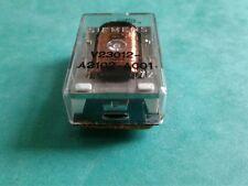 Relay V23012-A2102-A001 SIEMENS 9 pins  transparent NOS