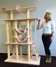 """LARGE 80"""" Cat Tree Condo Furniture Scratch Pet House Kitten Tower Perch Post Toy"""