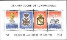 Luxembourg 1995 VE Day/WWII/Military Medals/Honours/Soldiers/Dove 4v m/s n43483