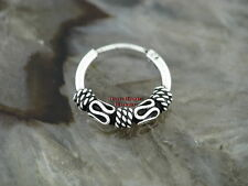 Ohrring Keltische CREOLE 14mm Gothic Celtic Silber 925