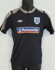 Boys Umbro England Training Short Sleeve Tee Shirt Brand New Size Small #4392