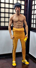 1/6 Bruce Lee STATUE IP Man 3 Jet Li Muscle Body Hot Toys Enterbay Head sculpt