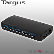 Targus 7 Port Mobile USB 3.0 Powered Hub with 2 Fast Chaging Port for Smartphone