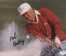 Autographed 8 x 10 Photo of Masters Champion Bob Goalby JSA Authenticated