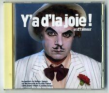 CD 34 titres Y'a d'la joie et de l'amour Trenet spectacle de Jerome Savary 1998