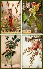 Olde American Antiques Quilt Block Cicely Barker Fairies Set 13 FREE US SHIPPING