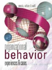 Organizational Behavior : Experiences and Cases