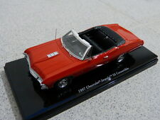 CHEVROLET Impala ss 67 Convertible Cabriolet BOLERO red rouge tsm voiture miniature 1:43
