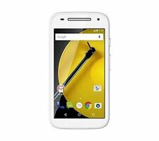 "Motorola Moto E XT-1524 2nd Gen 4.5"" 8GB Ram 1GB Cam 5 MP Android Unlocked White"