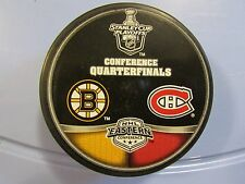 2009 Stanley Cup Playoffs Dueling Puck Boston Bruins / Montreal Canadiens